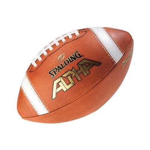 *Spalding® Alpha Official-Size Football SKU# 1388060