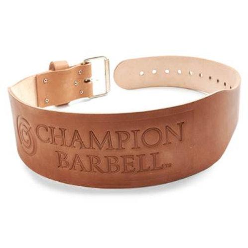 "*Champion Barbell 4"" Wide Tapered Regulation Belt SKU# CHCLB"