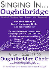 Oughtibridge Choir Poster
