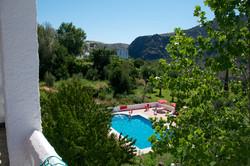 Pool at Hotel Mecina Fondales