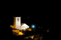 Ferreirola Church by night