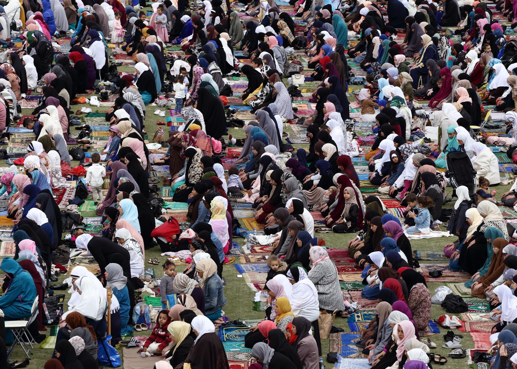 Femmes lors de l'Aïd el-Fitr