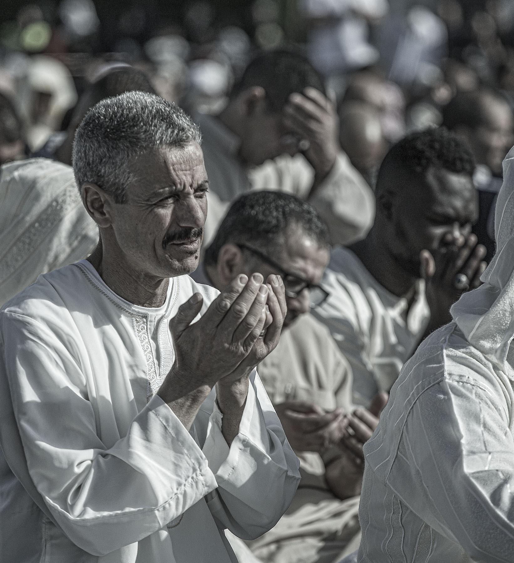 La priere de l'Aïd-el-Fitr.