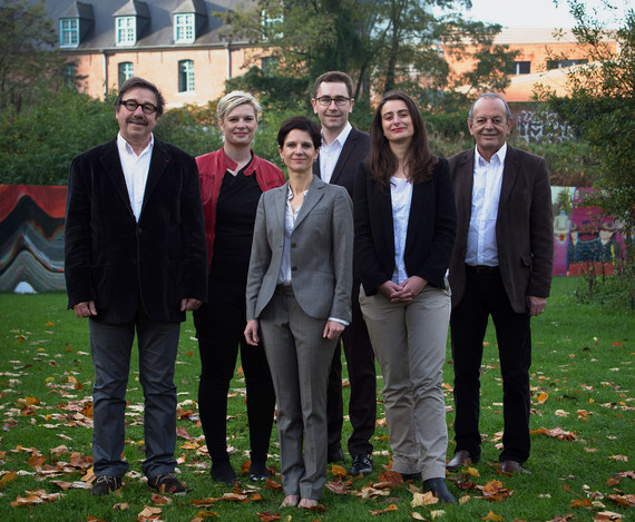 Photo des candidats EELV - PG pour les élections régionales de 2015 en Nord-Pas-de-Calais-Picardie