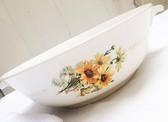 Saladier fleuri