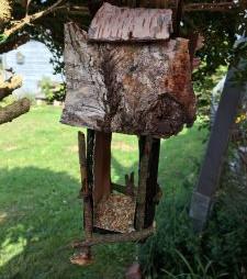 Vogelhäuser aus Milchtüten - DIY - basteln mit Kindern