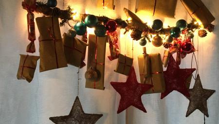Adventskalender für Kinder Weihnachten DIY