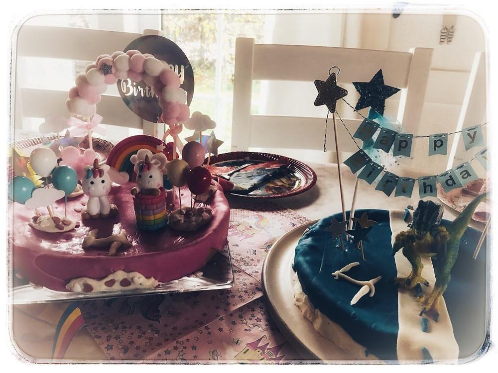 Einhornkuchen Polizeikuchen