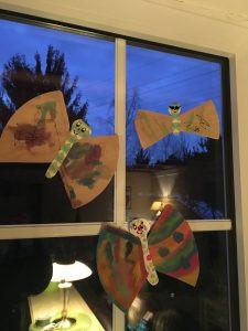 Schmetterlinge DIY Filtertüten
