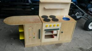 Pimp alte Kinderküche - Spielküche