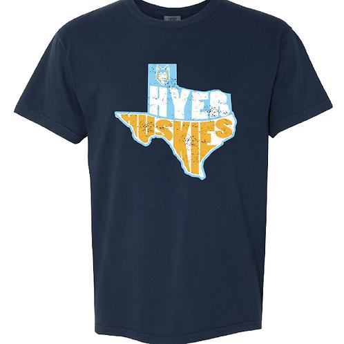 Hyer Husky Texas Tee