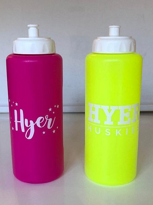 Hyer Husky Water Bottle (changes color)