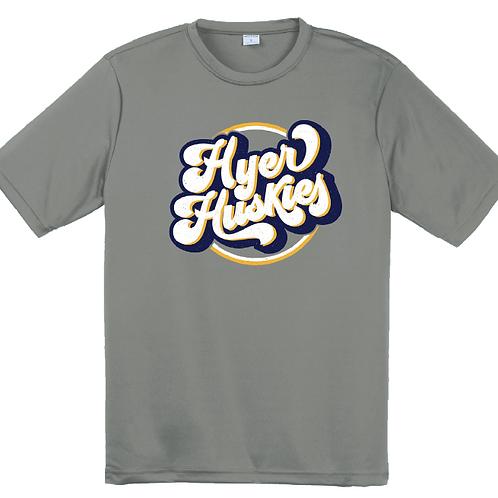 Hyer Huskies Athletic Tee