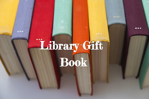 Select Library Gift Book Options
