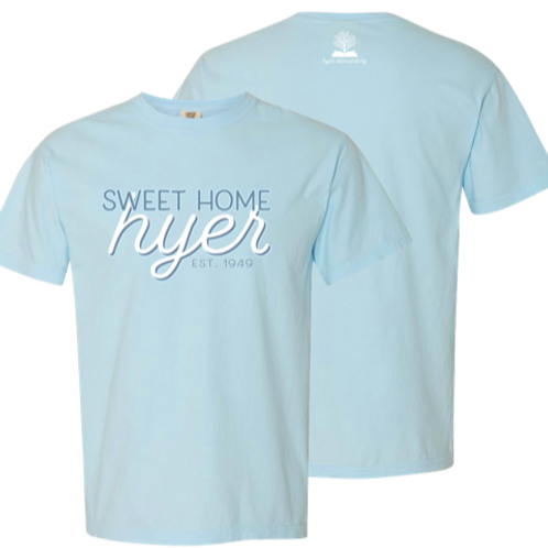 Comfort Colors Tee in Chambray