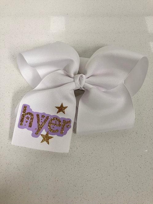 Hyer Bow (White)
