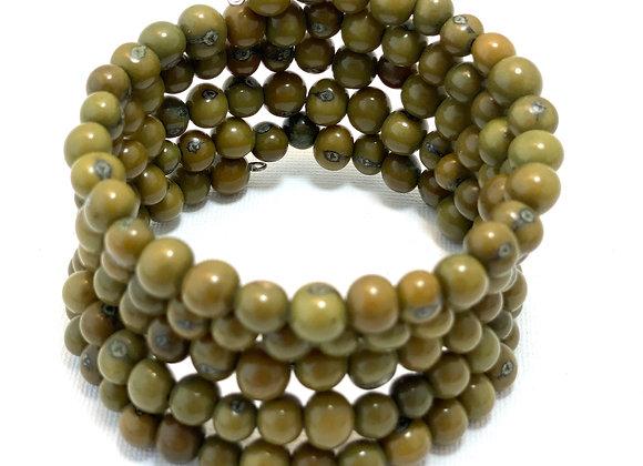 Açai Bracelet - Olive green