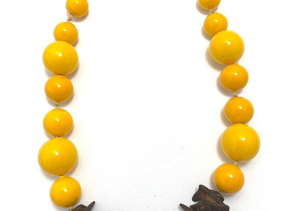 Cosmopolitan Necklace/short- Yellow