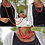 Thumbnail: Acai Seed beaded  Long Necklace, Pink