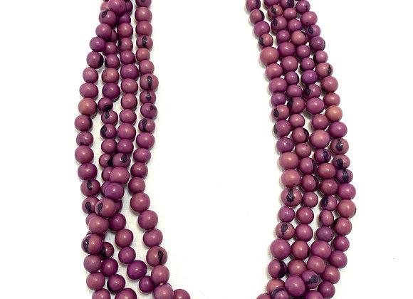 Acai Necklace - 4 strands, Purple