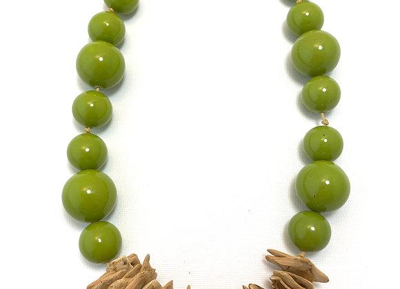 Cosmopolitan Necklace/short - Lime Green