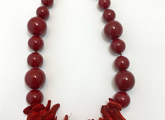 Cosmopolitan Necklace/short - Red