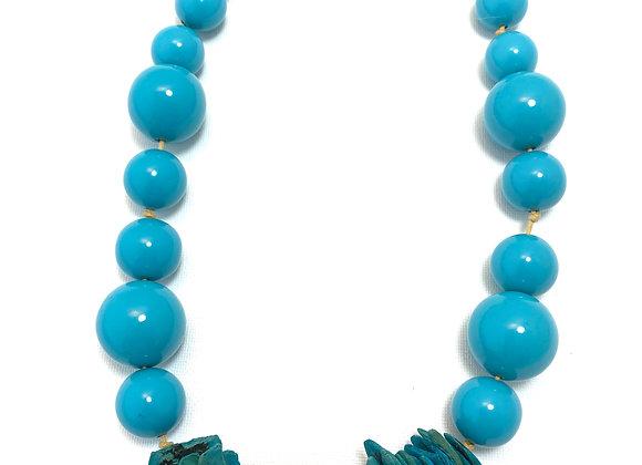 Cosmopolitan Necklace/short - Blue