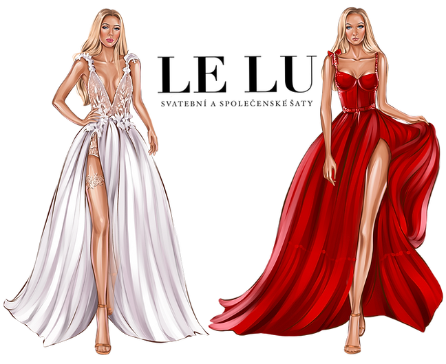 LE LU svatební a společenské šaty