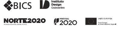 Logos da exposição Design de Produto a Norte