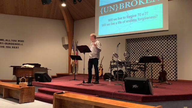 {UN}BROKEN 70x7 - Pastor Tim Elliott - 2.17.19