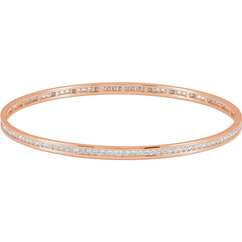 Diamond Stackable Bangle Bracelet