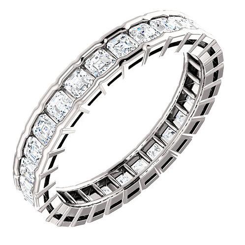 14K White Gold 1 1/2 CTW Diamond Eternity Band