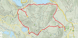 Loughrigg Fell route.png
