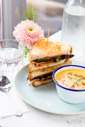 BLT and soup €10