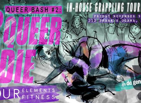 THIS FRIDAY….LGBTQ+ Fundraiser & Tournament & Party Nov. 9th, 8:30p-11p