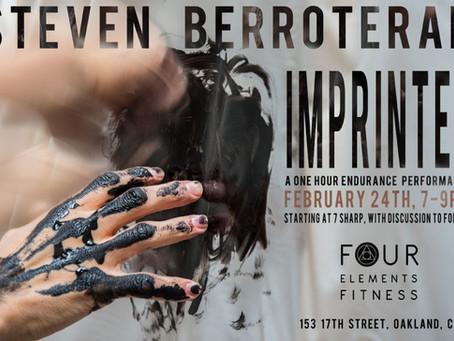Upcoming: Steven Berroteran – February 24, 2018