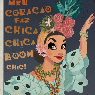 carmen miranda poster Brasil