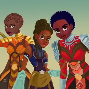 Black Panther- Girl Power!
