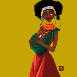 African Mommy!