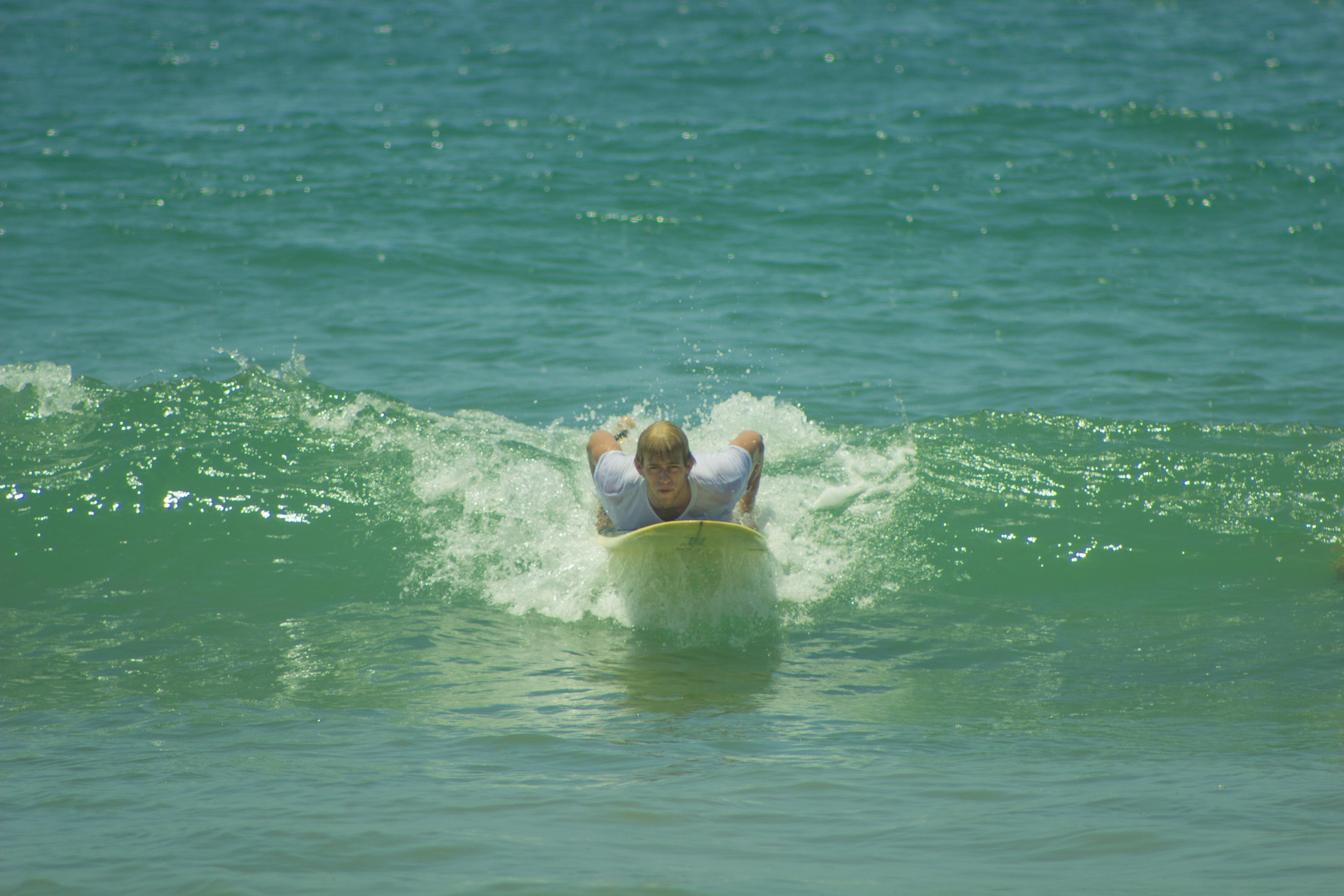 Daniel Surfing