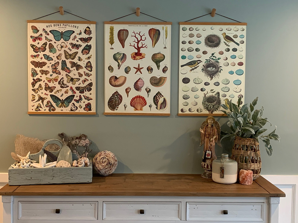 Inexpensive Wall Art with Alot of Impact
