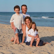 My family on vacation in LBI, NJ.