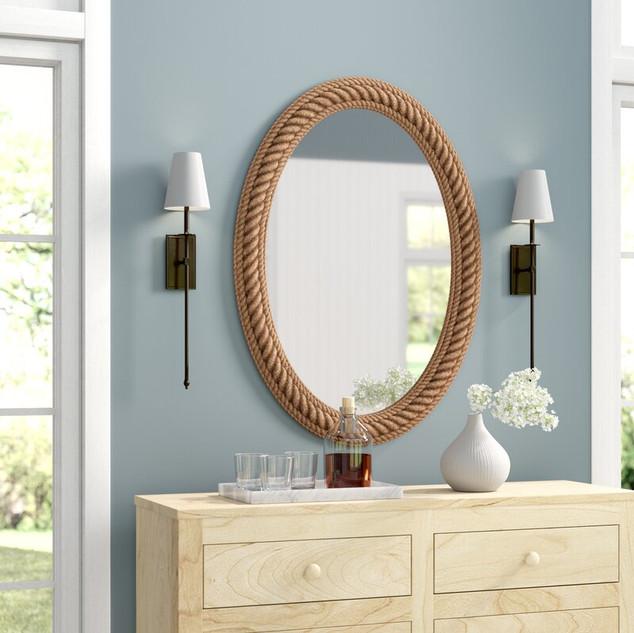 Sydney Rope Wall Mirror