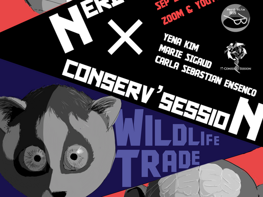 NerdNite Kansai x Conserv'Session Online Event [9-27-2020]