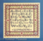 Summer Pleasures Alphabet Sampler, Cross Specialty Stitch Pattern