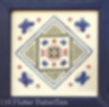 Flutter Butterflies Counted Thread Specialty Stitch Pattern