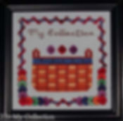 My Button Collection Basket Cross Stitch Pattern