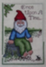 Once Upon A Time Gnome Cross Stitch Pattern