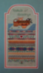 Baskets of Blessings Kittens Band Sampler Cross Specialty Stitch Pattern
