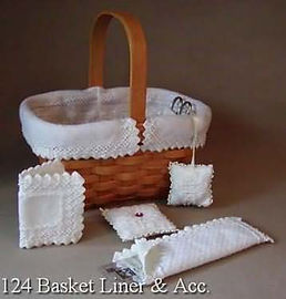 Small Comforts Basket Liner and Needlework Accessories - Cross Specialty Stitch Pattern